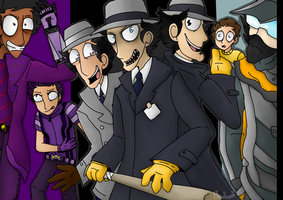 Go Go Gadget's  by UKRIEGER-OFFICIAL