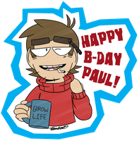 Happy B-day Paul! by PatsyBelle