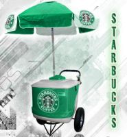 Starbucks PushCart by adibzta