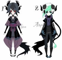 Dragon adoptable batch CLOSED by AS-Adoptables