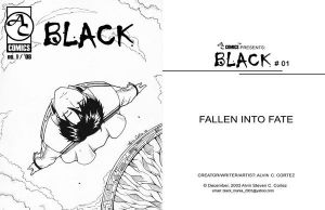 BLACK Cover and Title page by AlCortez