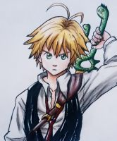 Meliodas - Seven Deadly Sins by taffz