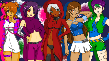 Girls of GamePlay by GearFighter