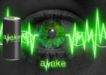 Energydrink awake by MarcCyall