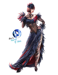 Anna Williams Render [Tekken 7] by Princess-of-Thorn