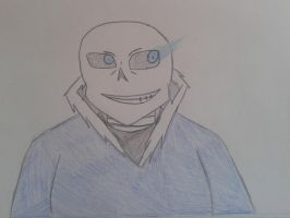 Art Trade: Sans by Classic-Dave