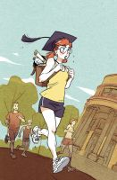 College runners by ElenoideArt