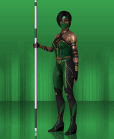 MKX Retexture: Assasin Jade by TheG-Flash