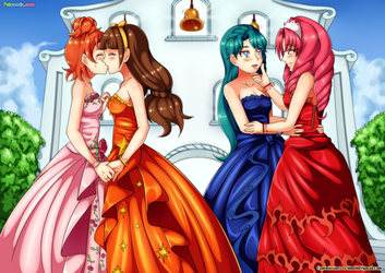 Go Princess Precure - The Wedding Day by bbmbbf