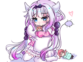 Kanna sketch  by greasydoodlenoodle
