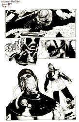 Wild Cats Issue 4 Firefight Travis and Rich by Blasterkid