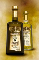 Olive Oil Label for ADRAMIS by byZED