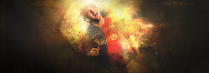 Lionel Messi 10 by M1ch3l3