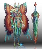 [Fan Skin] Fairy King Aatrox by Valkymie