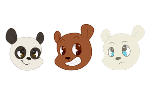 we bare bears by chaiIatte