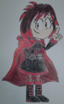Ruby Rose in Sonic Mania Style by Numbuh7Studios