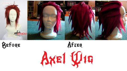 Axel Wig: Before and After by KisaAoiChu