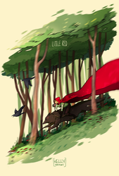 Trade - Little Red Riding Hood by SketchCircus