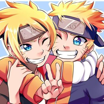 Father and son - Uzumaki by Thanysa