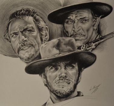 The Good, The Bad, The Ugly - The Trio by Luca1992