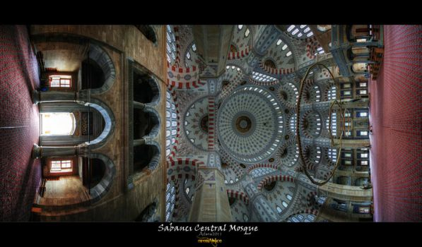 Sabanci Central Mosque by erenabice