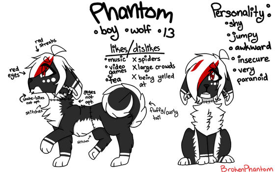 (Retired sona)Phantom [Feral] Ref. by guillotiines
