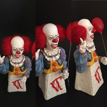 Pennywise painted by vrlovecats