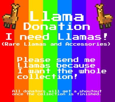 Llama Donation!!!! by StealthHawk6