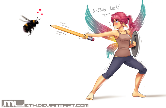 Erylia finds an enemy by MLeth