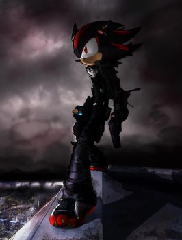 Shadow the Hedgehog -His World by Windhover07