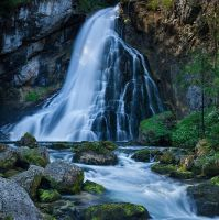 Golling Waterfall - Full by AndreasResch