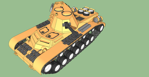 First Tank by Pixel-pencil