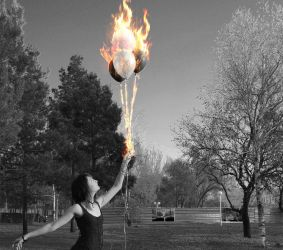 Fire Baloon by jakazulham