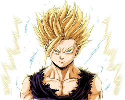 Gohan SS2 by Sorein703