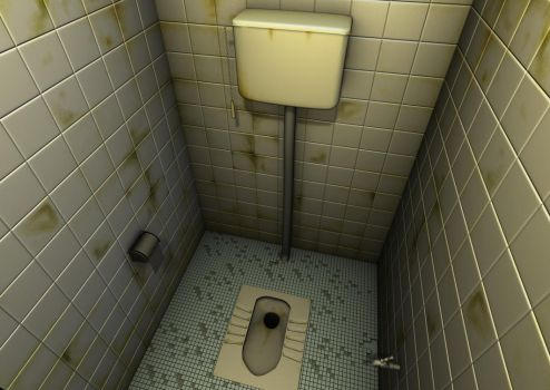 3D Toilet by vinchess