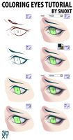 Coloring eyes tutorial in sai by Smoxt