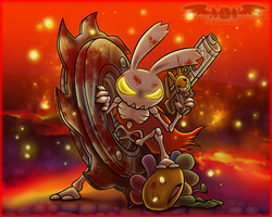 Hell Yeah! Wrath of the Dead Rabbit by MoonyWings