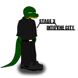 Rex ( STAGE 3, INTO THE CITY ) by Super526