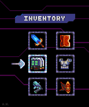 Pixel Dailies: Inventory by Phantosanucca