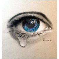 The Crying Eye by RockabillyReese