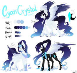 [CE] Cyan Crystal redesign by Monogy