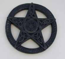 Wooden Pentagram - Stock by sabbat-circle