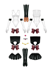 Sailor Pluto Paper Doll part 3 of 4 by starca