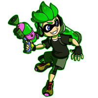 Crafty Concoction: Inkling Boy by DrCrafty