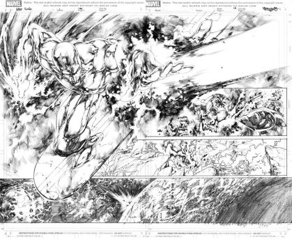 Silver Surfer issue1 pg9-10 by sjsegovia