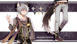 [CLOSED Thank You ~] Auction Adopt Okamimimi by sarahwidiadopts