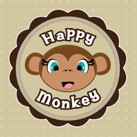Happy Monkey by purpleoctopussy