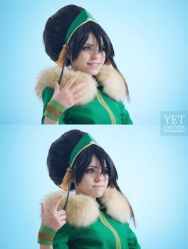 Toph Bei Fong - Winter Queen by TophWei