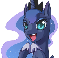 Luna by grasspainter
