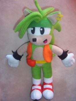 MANIC THE HEDGEHOG PLUSH 2 by Victim-RED